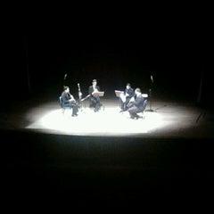Photo taken at Teatro Municipal Severino Cabral by Phellipe V. on 7/4/2013