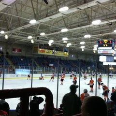 Photo taken at Androscoggin Bank Colisée by Breanna G. on 12/29/2012