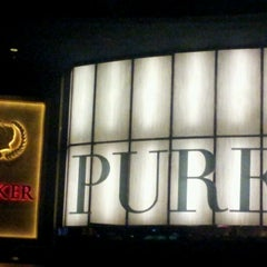 Photo taken at PURE Nightclub by Paula S. on 2/11/2013