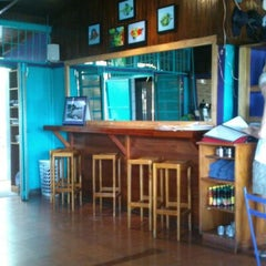 Photo taken at Café Milagro in Manuel Antonio by Chris N. on 4/14/2013