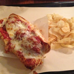 Photo taken at Bunk Sandwiches by Kristin B. on 1/12/2013