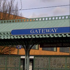 Photo taken at TriMet Gateway/NE 99th Ave MAX Station by Stephen H. on 1/31/2013