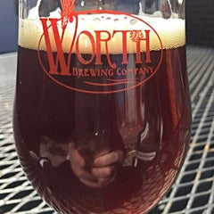 Photo taken at Worth Brewing Company by William R. on 3/14/2015