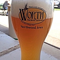 Photo taken at Worth Brewing Company by William R. on 9/28/2014