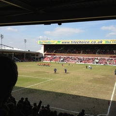 Photo taken at Banks's Stadium by Callum H. on 4/6/2013