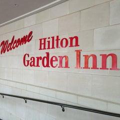 Photo taken at Hilton Garden Inn by Ahmed K. on 8/21/2013