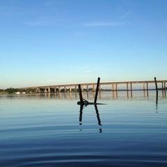 Photo taken at Ilha das Flores by Leandro B. on 12/25/2012