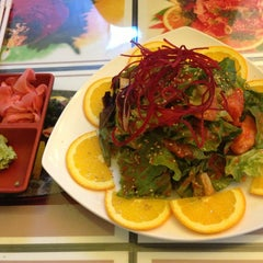 Photo taken at Todo Sushi by Jordan C. on 1/16/2013