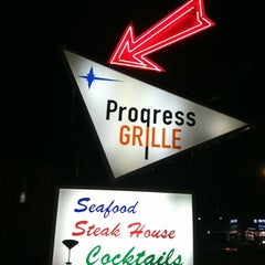 Photo taken at The Progress Grill by Jerry K. on 3/2/2013
