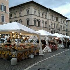 Photo taken at Piazza Giacomo Matteotti by Anna P. on 11/4/2013
