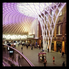 Photo taken at London King's Cross Railway Station (KGX) by Jonathan S. on 6/7/2013
