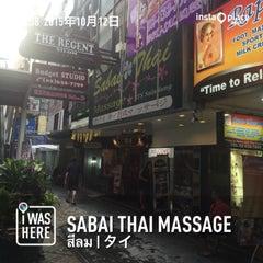 Photo taken at Sabai Thai massage by なんば さ. on 10/12/2015