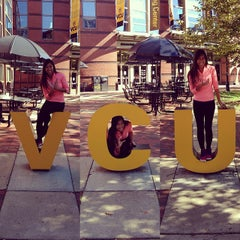 Photo taken at Virginia Commonwealth University (VCU) by Annie N. on 10/20/2013