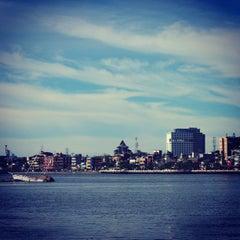 Photo taken at Pantai Losari by Tholenk H. on 4/1/2013