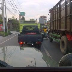 Photo taken at Jalan Mahendradata by Deddy S. on 9/18/2012