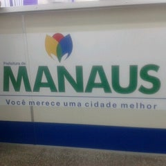 Photo taken at Prefeitura Municipal de Manaus by Ricardo M. on 12/18/2012