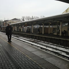 Photo taken at Feltham Railway Station (FEL) by Veiko K. on 1/21/2013