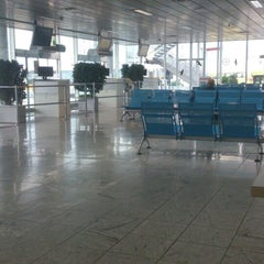 Photo taken at Blue Danube Airport Linz (LNZ) by Christoph S. on 6/14/2013