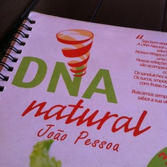 Photo taken at DNA Natural by Daniel B. on 9/29/2012