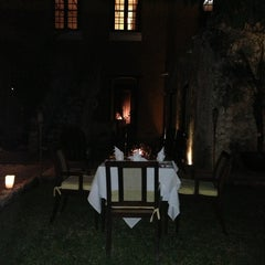 Photo taken at Hacienda Puerta Campeche by Cristina S. on 1/12/2013