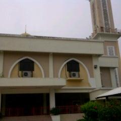 Photo taken at Masjid Sepang by hadeymadera on 8/18/2013