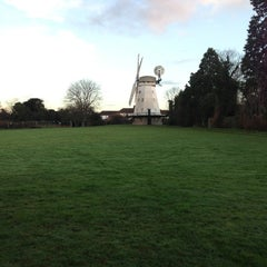 Photo taken at Upminster Windmill by Chris O. on 12/17/2012