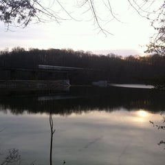 Photo taken at Lake Accotink Park by Monica S. on 2/17/2011
