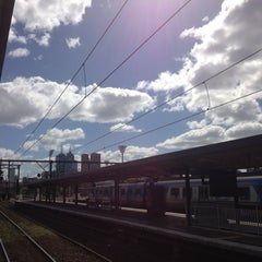 Photo taken at Ringwood Station by edgar g. on 9/23/2012