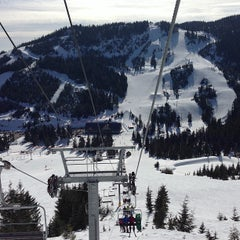 Photo taken at Cypress Mountain by Jenn C. on 3/24/2013