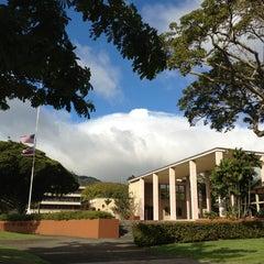 Photo taken at University of Hawai'i at Mānoa by ルゼ on 12/19/2012