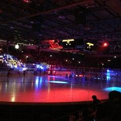 Photo taken at Olympia-Eisstadion by Przemek R. on 3/8/2013