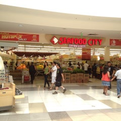 Photo taken at Seafood City Super Market by Jun G. on 6/23/2013