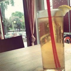 Photo taken at Namaste Cafe by Tom M. on 5/29/2013