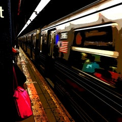 Photo taken at MTA Subway - 86th St (B/C) by Marc S. on 8/20/2015