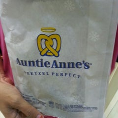 Photo taken at Auntie Anne's by Khairul A. on 12/23/2012