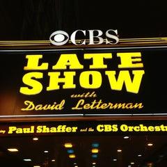 Photo taken at Ed Sullivan Theater by Todd M. on 2/12/2013