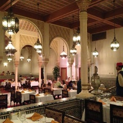 Photo taken at Restaurant Marrakesh by Lisa D. on 4/15/2013