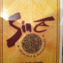 Photo taken at Sine Irish Pub & Restaurant Arlington,Va by Todd K. on 2/16/2013