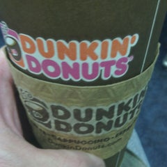 Photo taken at Dunkin Donuts by Chris O. on 10/29/2014