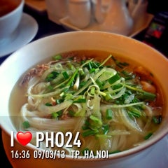 Photo taken at Phở 24 by Peggy G. on 3/9/2013