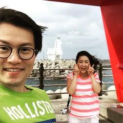 Photo taken at 이호테우해변 (Iho Taewu Beach) by Kiwoong K. on 7/24/2015