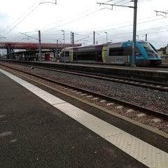 Photo taken at Gare SNCF de La Roche-sur-Yon by Thomas B. on 5/8/2013