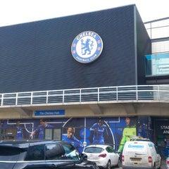 Photo taken at Stamford Bridge by Inês M. on 3/21/2013