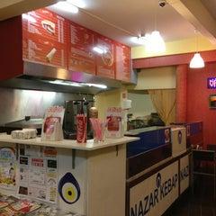 Photo taken at Nazar Kebab & Pizza by ilhan Ö. on 3/30/2013