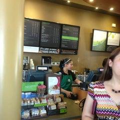Photo taken at Starbucks by Alejandra B. on 5/30/2013