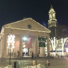 Photo taken at Faneuil Hall Marketplace by Chris D. on 3/23/2013