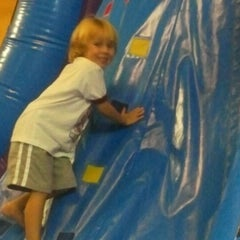Photo taken at Pump It Up by Lisa K. on 8/4/2012