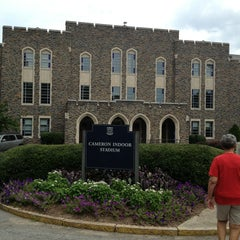 Photo taken at Cameron Indoor Stadium by Kaylee N. on 7/27/2013