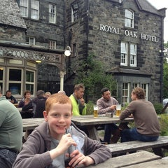 Photo taken at Royal Oak Betws y Coed by Alan M. on 6/15/2013