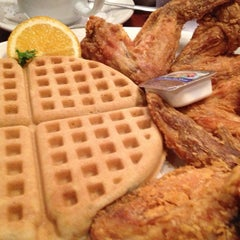 Photo taken at Gladys Knight's Signature Chicken & Waffles by aimee c. on 12/29/2012